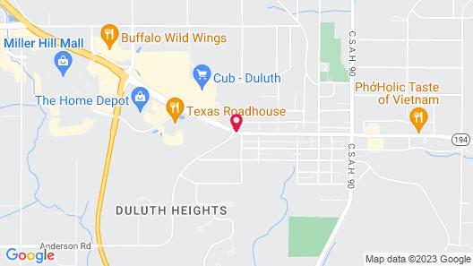 Residence Inn by Marriott Duluth Map