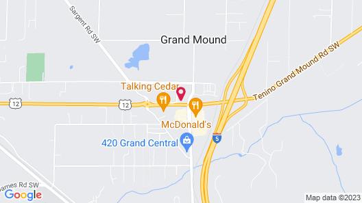 Fairfield Inn & Suites by Marriott Grand Mound Centralia Map