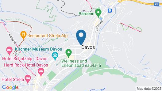 Hotel Edelweiss Map