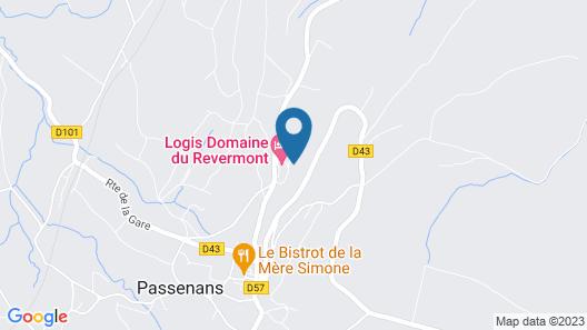Domaine du Revermont, The Originals Relais (Relais du Silence) Map