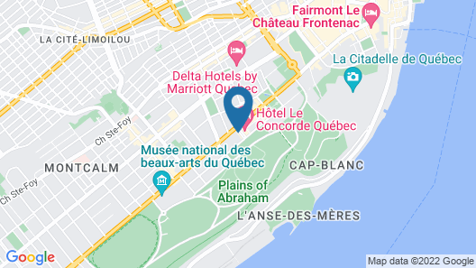 Wow! Perfect Apartment Suites in Quebec City - Walk and Enjoy! Map