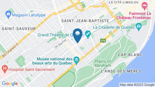 Auberge Aux deux Lions Map