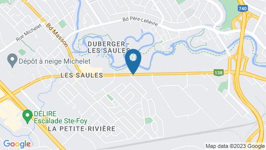 Motel Lustre d'Or Map