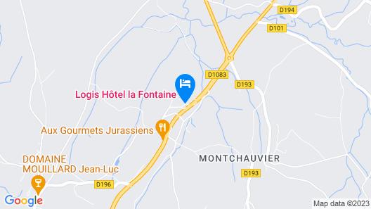 La Fontaine Map