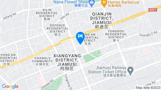 Jinjiang Inn Jiamusi New Mart Map