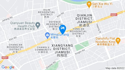 Ding Te Hotel Map