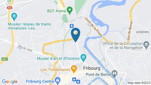 Hôtel Aux Remparts Map