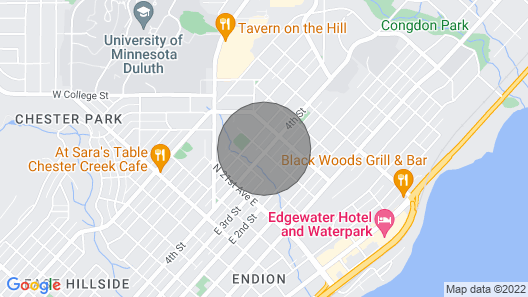 Beautiful Historic Congdon Meets Modern Map