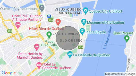 Quaint, charming little house in a phenomenal location in Old Quebec City! Map