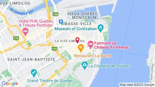 Hôtel Marie-Rollet Map