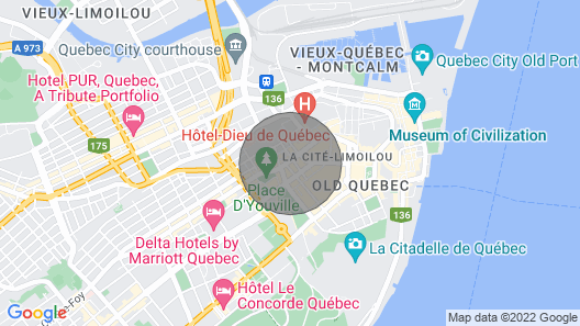 Look no Further _old Québec_ Stylish 2bdr #2 Map