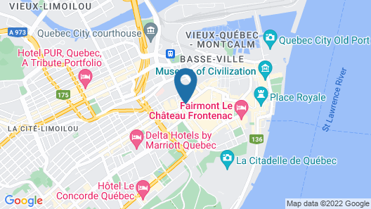 Les Lofts 1048 Map