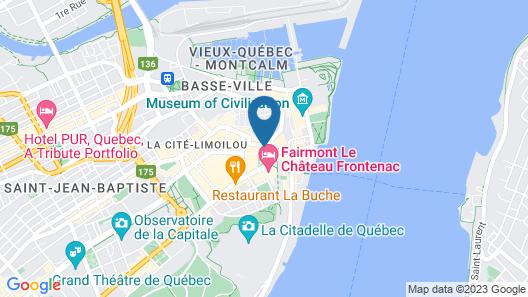 Les Lofts de Buade by Les Lofts Vieux-Québec Map