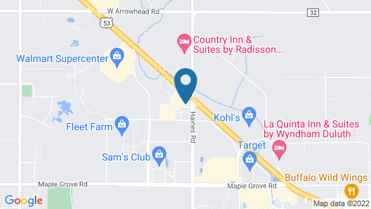 Econo Lodge Duluth near Miller Hill Mall Map