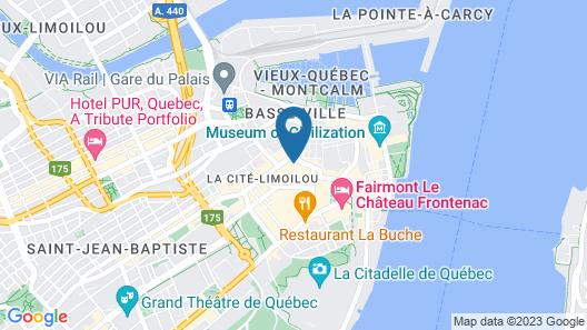 Monsieur Jean, Vieux Québec Map