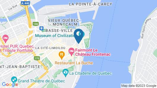 Hotel Le Priori Map