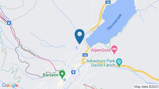 Chalet Seeblick Davos Map