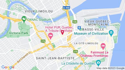 Les Lofts St-Joseph - By Les Lofts Vieux-Quebec Map