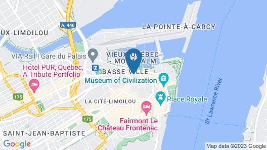 Les Lofts St-Paul -  By Les Lofts Vieux-Quebec Map
