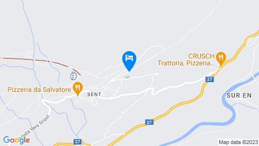 Gemütliche Wohnung mit Einem Wunderbaren Ausblick auf die Berglandschaft Map
