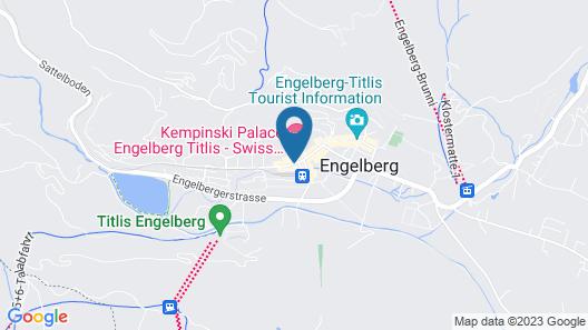 Hotel Schweizerhof Engelberg Map