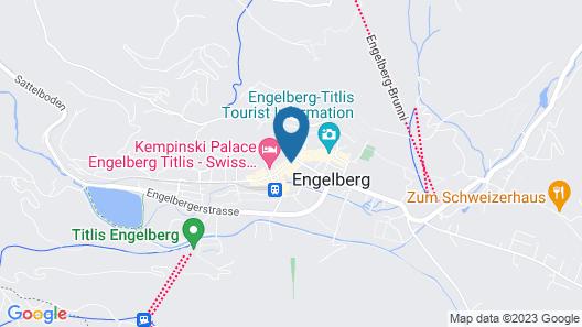 H+ Hotel & SPA Engelberg Map