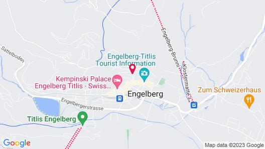 Minotel Edelweiss Map