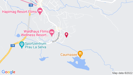 Sunstar Alpine Hotel Flims Map
