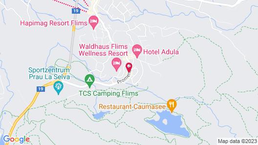 Hotel des Alpes Map