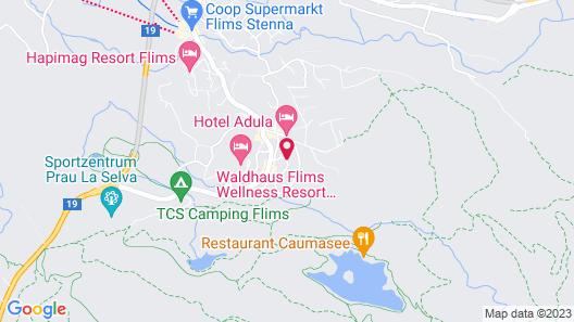 Schweizerhof Flims, Romantik Hotel Map