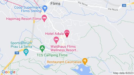 Adula Hotel Map