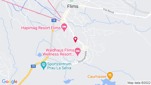 T3 Hotel Mira Val Map