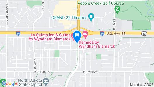 La Quinta Inn & Suites by Wyndham Bismarck Map