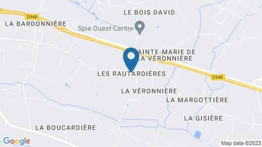 La Maison de Brigitte Chambres d'Hotes Map