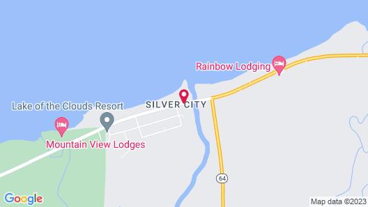 AmericInn by Wyndham Silver City Map