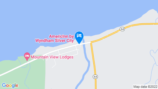 AmericInn by Wyndham Silver City Map