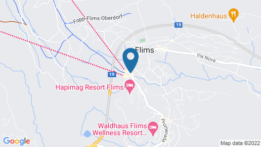 The Hide Hotel Flims Map