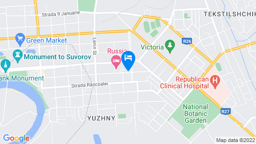 Hotel Russia Map