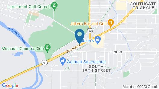 Super 8 by Wyndham Missoula/Brooks Street Map