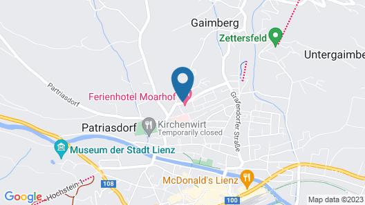Ferienhotel Moarhof Map