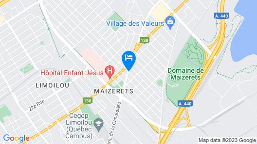 Auberge Amérik Map