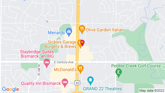 Country Inn & Suites by Radisson, Bismarck, ND Map