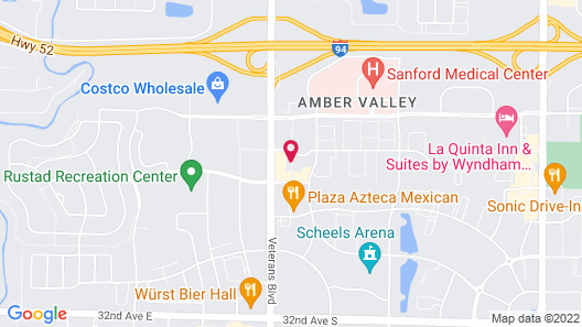 My Place Hotel-Fargo, ND Map