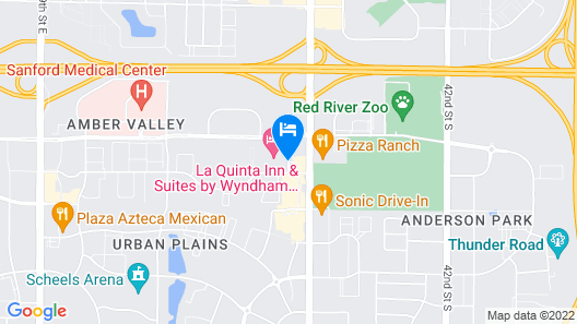 La Quinta Inn & Suites by Wyndham Fargo-Medical Center Map