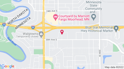 Microtel Inn & Suites By Wyndham Moorhead Fargo Area Map