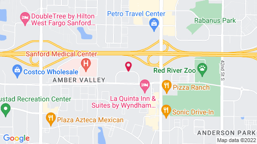 Hampton Inn & Suites by Hilton Fargo Medical Center Map
