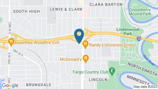 Baymont by Wyndham Fargo Map