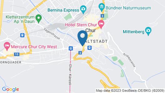 Hotel Chur Map