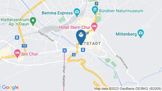 Hotel Alpenstadt Map