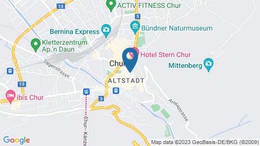 Ambiente Hotel Freieck Map